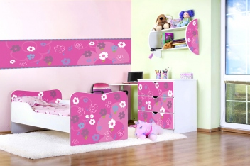 Detská izba Kytičky