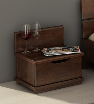 Nočný stolík z bukového dreva Greger