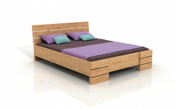 Drevená buková posteľ Freja