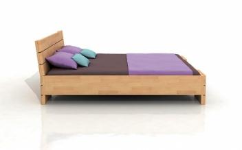 Buková posteľ s úložným priestorom Melker