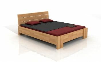 Drevená posteľ s úložným priestorom Inge
