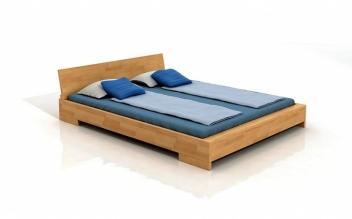 Drevená posteľ Rolf s voliteľnými rozmermi
