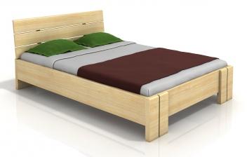 Drevená posteľ s vysokým čelom Ulrik