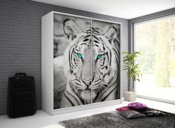 Šatníková skriňa s tigrom Monela 9