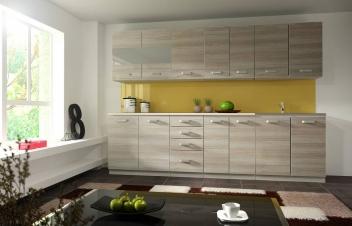 Lacná kuchynská linka do malých bytov Zoja 1
