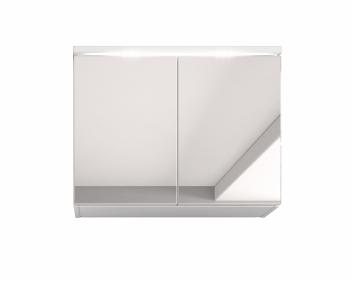 Závesná skrinka so zrkadlom do kúpeľne Manela bbl 2