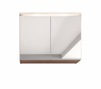 Kúpeľňová skrinka so zrkadlom Manela ds 2