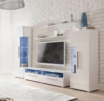 Biela obývacia stena Misty 1